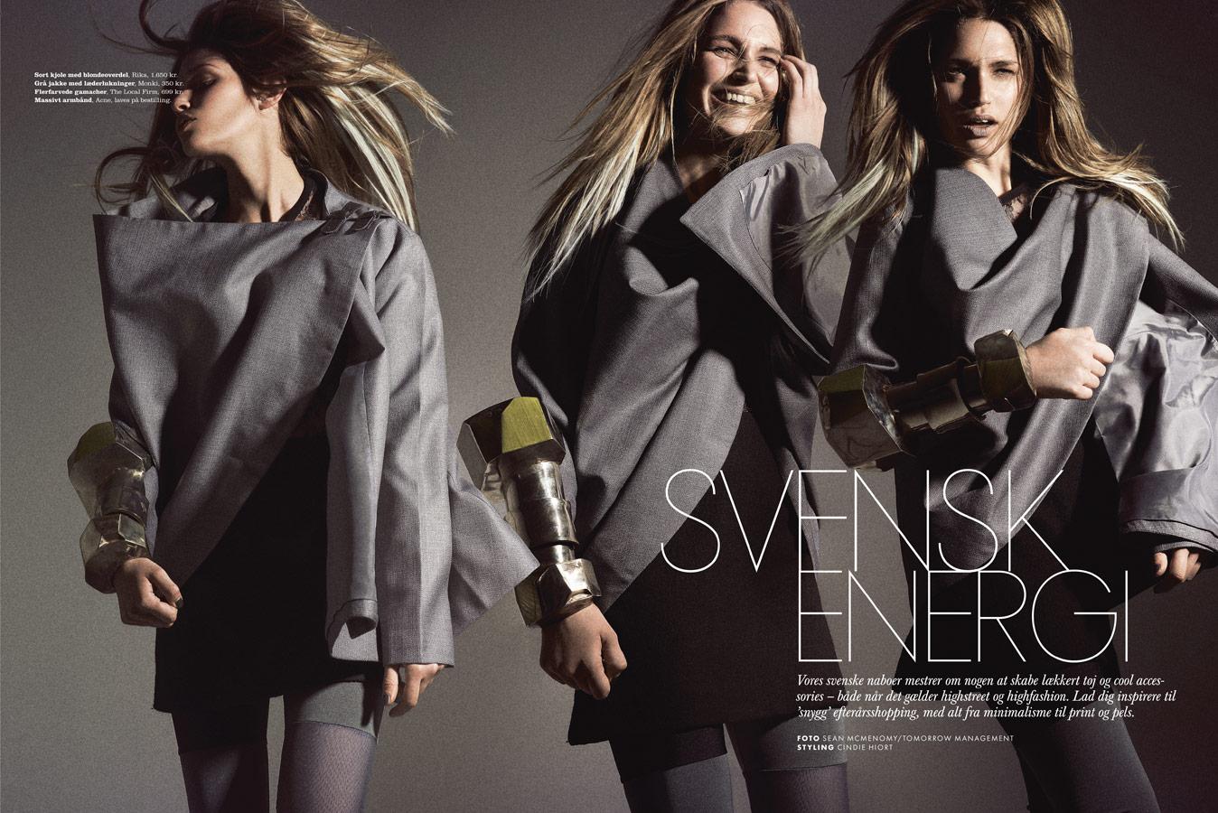 elle magazine swedish collection