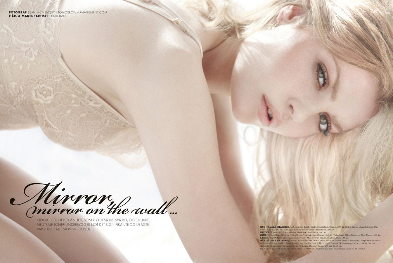 elle magazine natural beauty